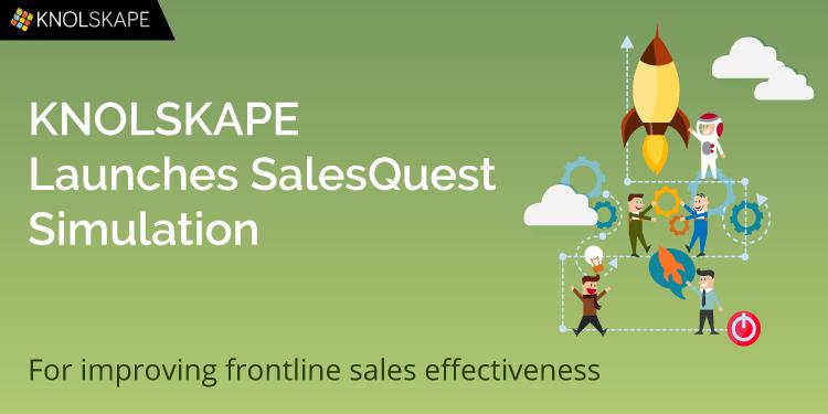 KNOLSKAPE has launched SalesQuest Simulation to improve