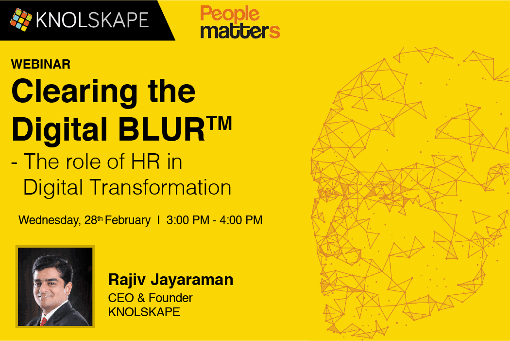 [Webinar] Clearing the Digital  BLUR™ – The Role of HR in Digital Transformation
