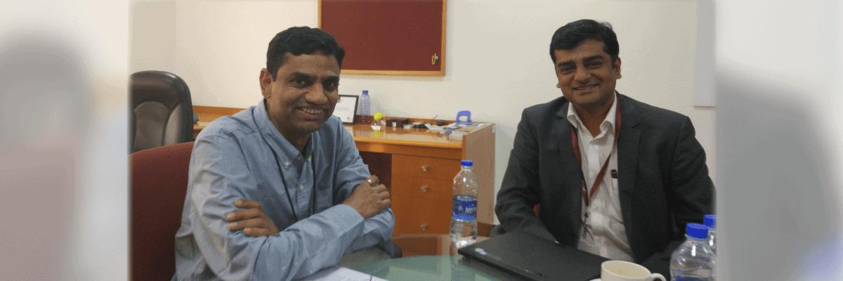 Catch digital expert Krish Shankar's Interview Q and A on digital transformation with Rajiv Jayaraman, Founder and CEO, KNOLSKAPE.