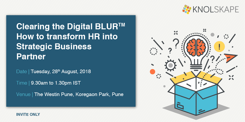 Experiential Session on 'Leading a Digital Change' with an award winning simulation – Pune