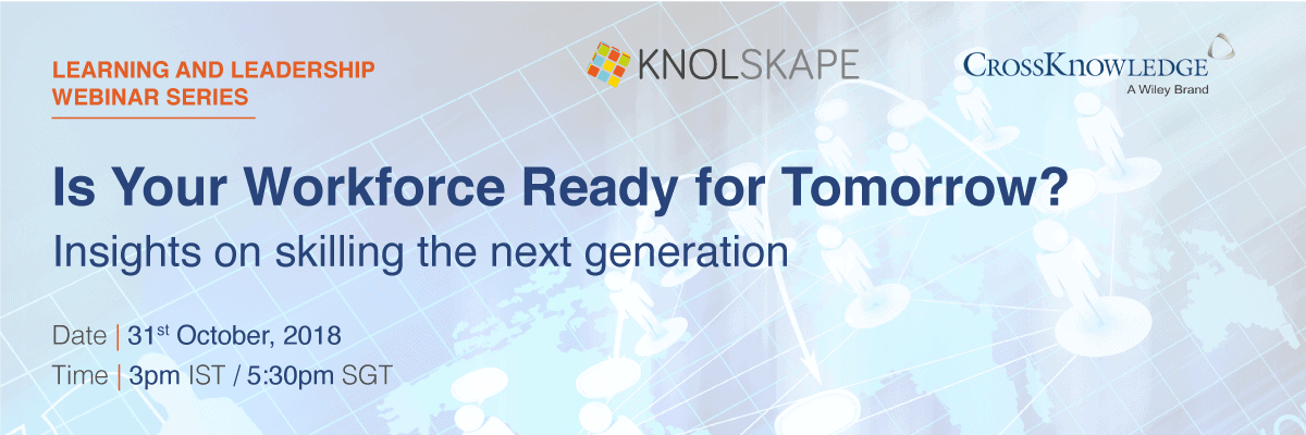 Webinar: Is your workforce ready for tomorrow? - Insights on skilling the next generation