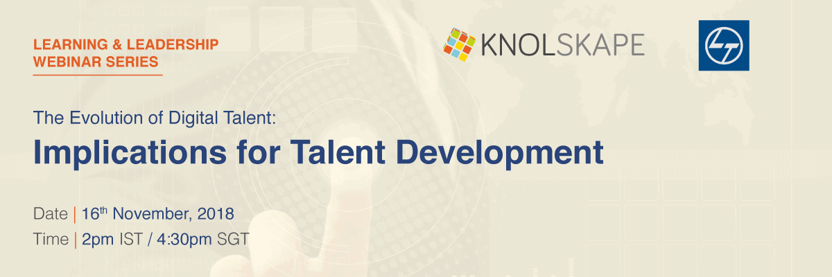 The evolution of digital talent: implications for talent development