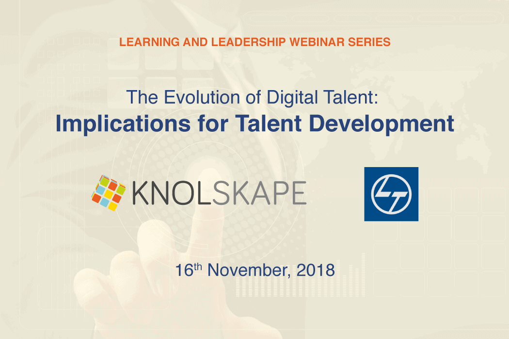 Webinar – The Evolution of Digital Talent: Implications for Talent Development