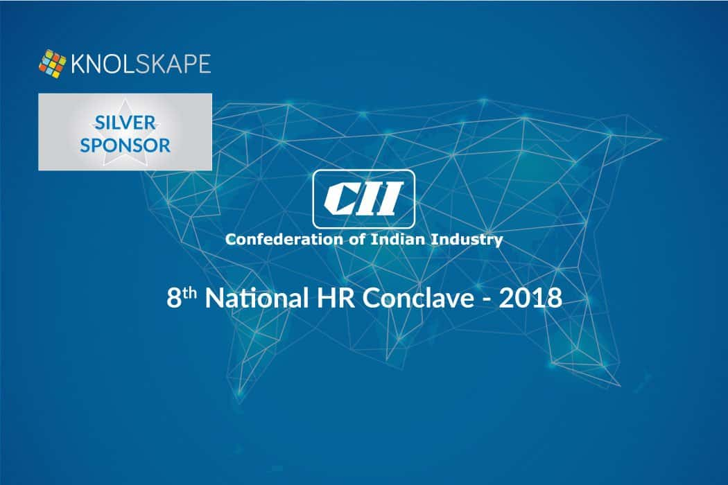 KNOLSKAPE is proud Silver sponsor for CII – 8th National HR  Conclave 2018
