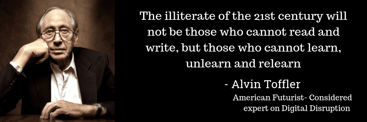 The illiterate of the