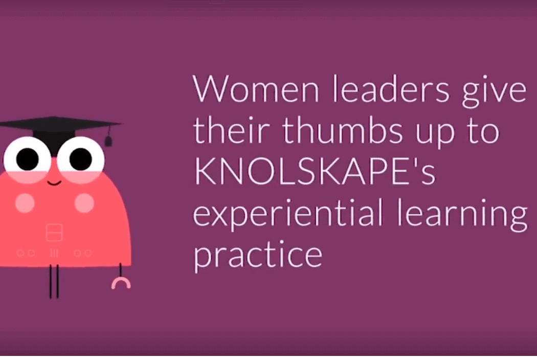 Women Leaders Advocating KNOLSKAPE's Experiential Learning Programs