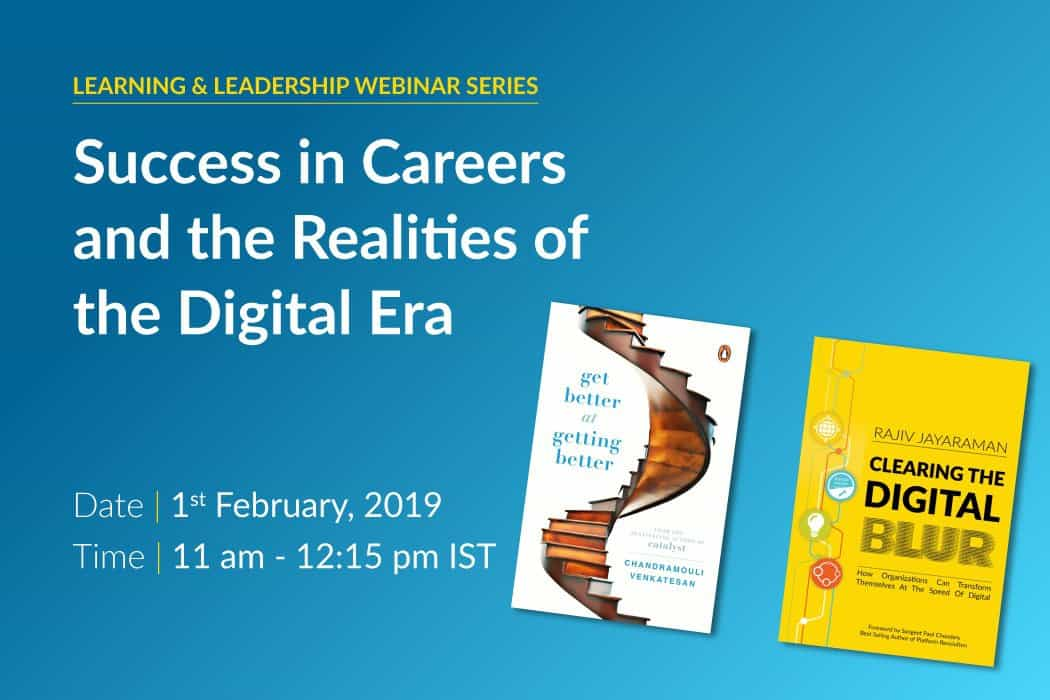 Webinar – Success in careers and the realities of the digital era