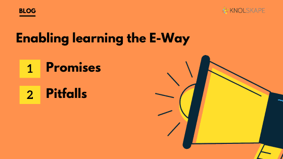 Enabling Learning the E-Way: The Promises and Pitfalls of eLearning