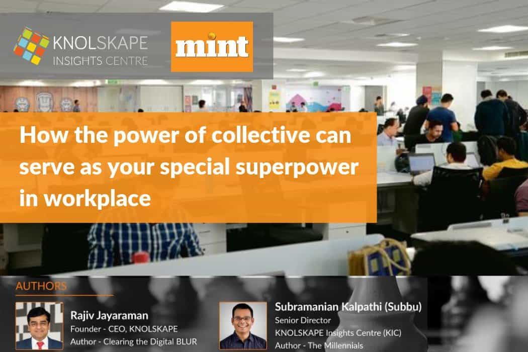How the power of collective can serve as your special superpower in workplace