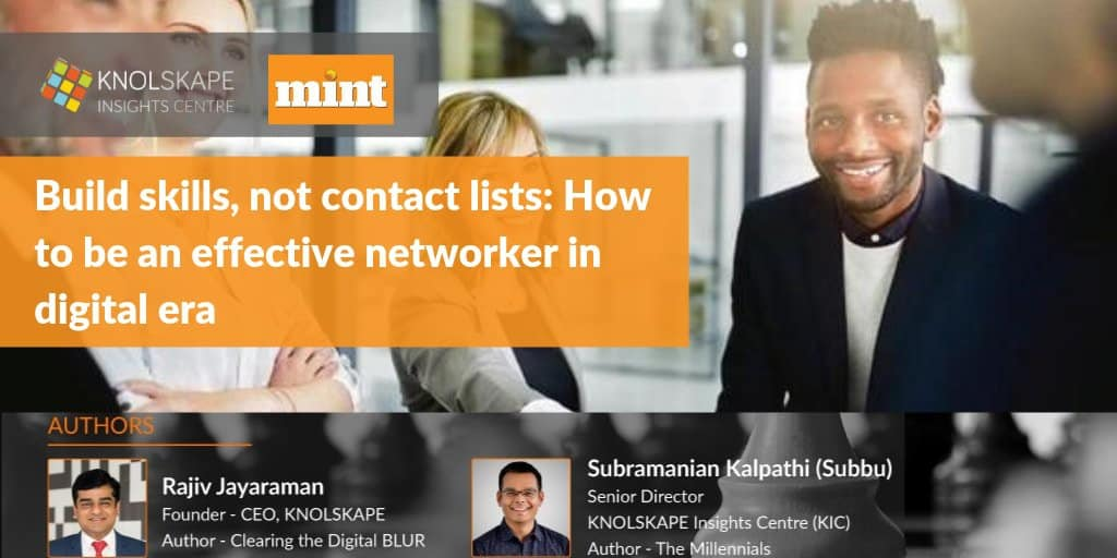 Build Skills, not contact lists