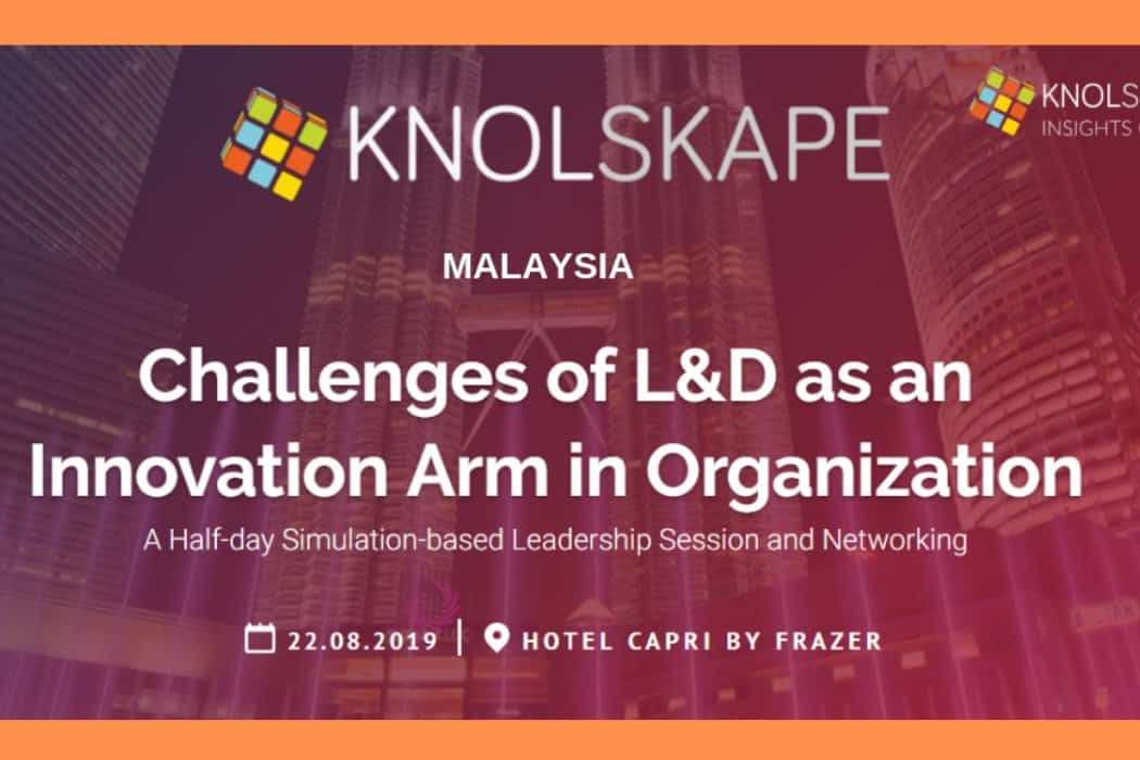 Challenges of L&D as an Innovation Arm in Organization