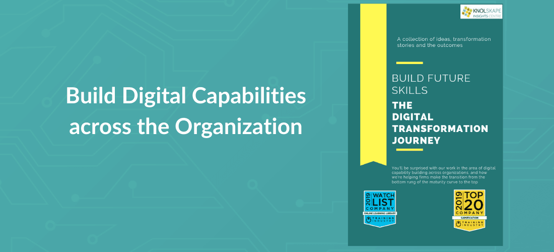 Build Digital Capabilities across the Organization