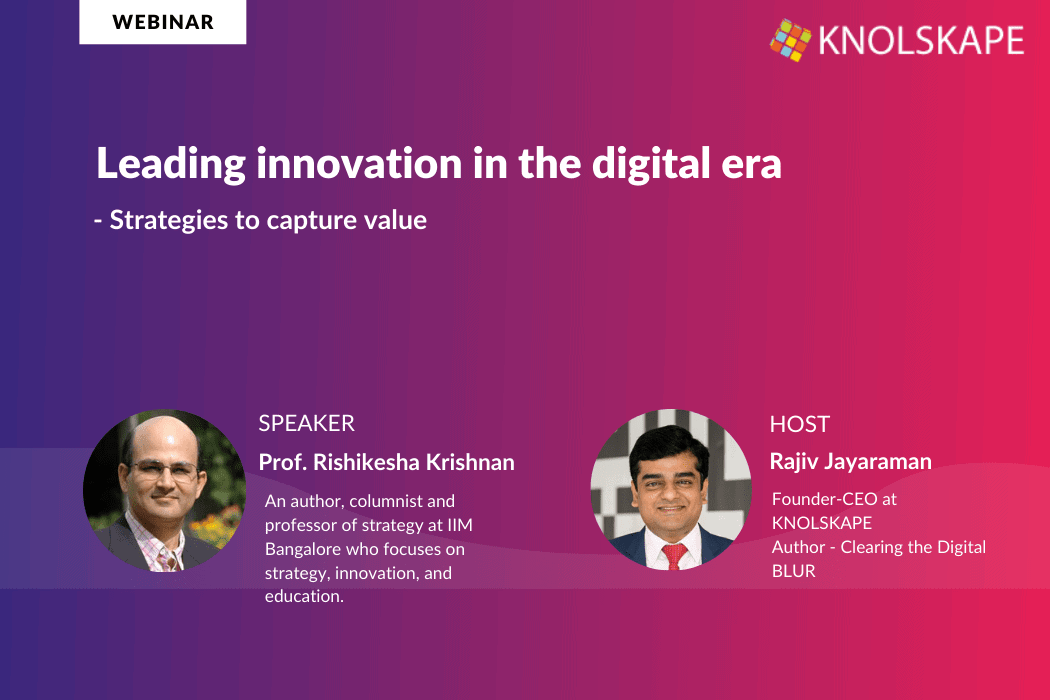 Webinar Recording – Leading innovation in the digital era