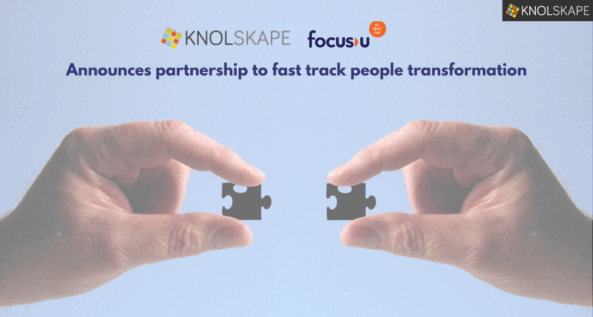 KNOLSKAPE and FocusU Engage announce partnership for accelerated employee development