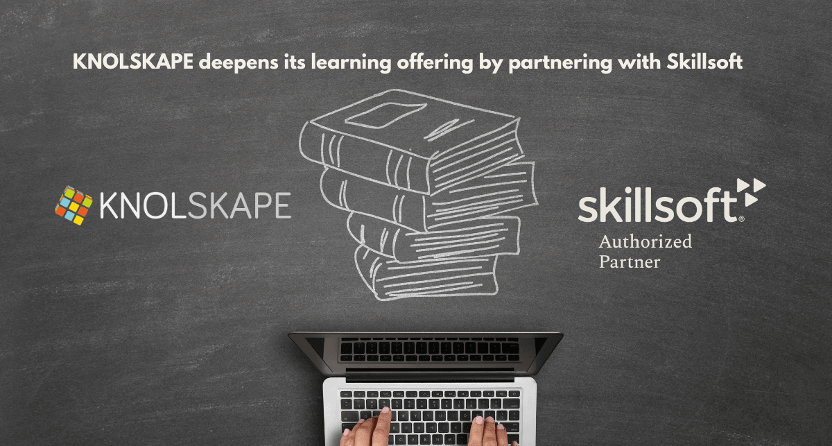 KNOLSKAPE Deepens Its Learning Offerings By Partnering with Skillsoft